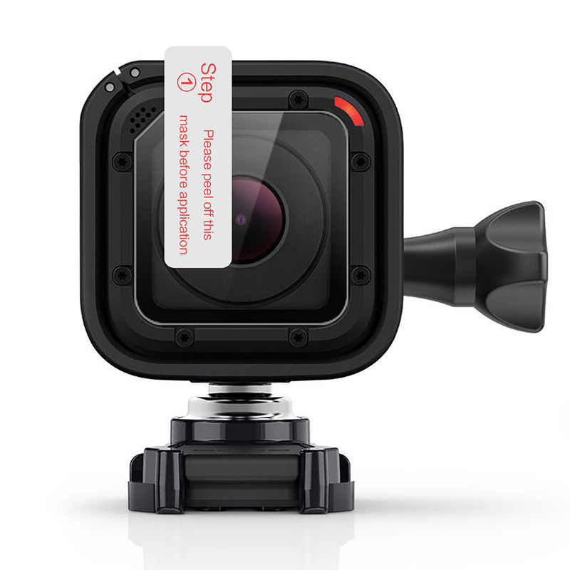 Новейшая защитная пленка для ЖК-экрана из закаленного стекла + ткань для Gopro Hero 4 Session Sport Action camera Go Pro Аксессуары