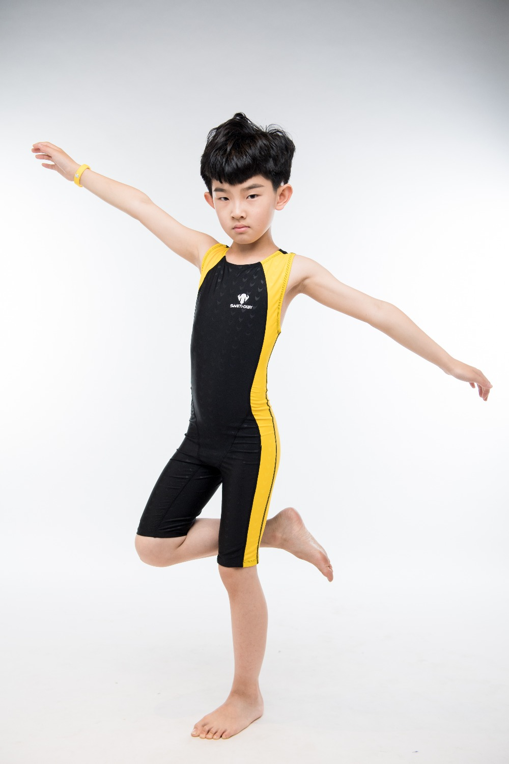 Boy Nylon One Piece Surfing Suit Professional Sport Swimwear Children Racing Training Bathing Sail Competition Board Beach Wear phinikiss printed racing swimwear large size one piece suit professional swimsuit sport bathing suit competition 2016 triathlon