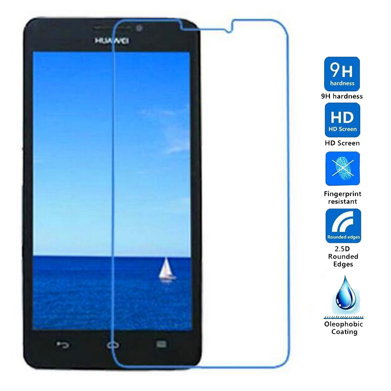2.5D 9H Tempered Glass For Huawei Ascend G730 G740 G750 G610 G620s 8817 G630 G628 G520 Screen Protector For Huawei G7 G6 Film