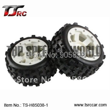 5B Knobby Wheel Set With Nylon Super Star Wheel(TS-H85038-1)x 2pcs for 1/5 Baja 5B, SS , wholesale and retail 5b rear highway road wheel set with nylon super star wheel ts h95085 x 2pcs for 1 5 baja 5b wholesale and retail