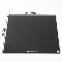 310*310 мм/235*235 мм Creality 3D ультрабук 3d принтер платформа Подогрев кровать построение поверхности стеклянная пластина для CR-10 CR-10S Ender3