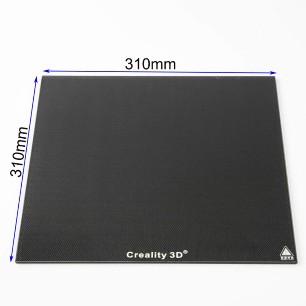 310*310mm/235*235mm New Creality 3D Ultrabase 3D Printer Platform Heated Bed Build Surface Glass plate for CR-10 CR-10S Ender3 400deg upgrade ultrabase self adhesive build surface glass plate 310x310mm for creality cr10 cr 10 series 3d printer