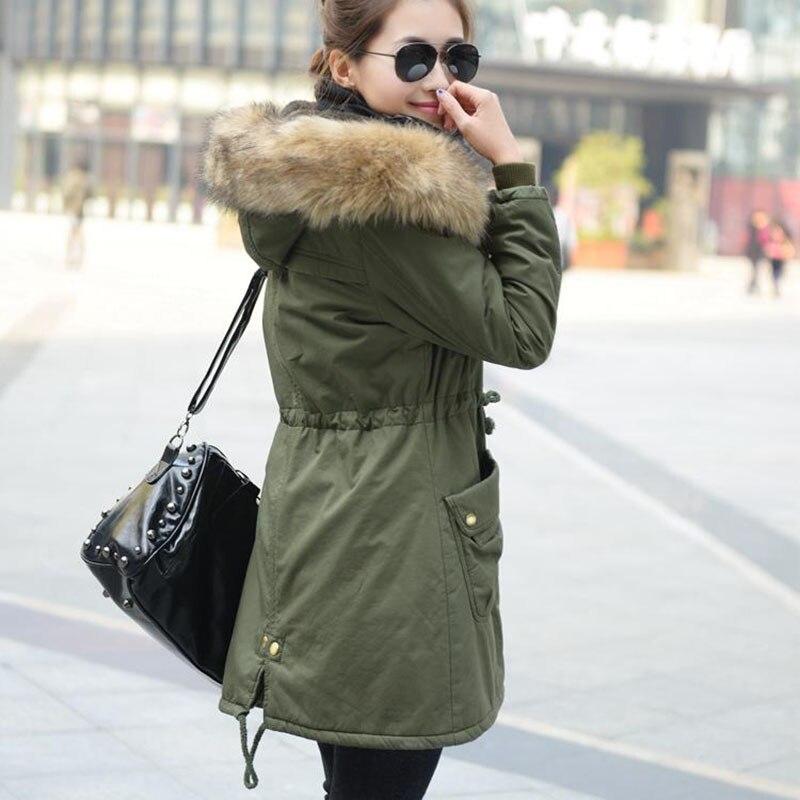 18831031301a1 Hot Sale Plus Size parka Winter Coat Women Winter Jacket Cotton Padded  Female Long Section Cashmere Coat Winter Jackets 4XL L264-in Parkas from  Women s ...
