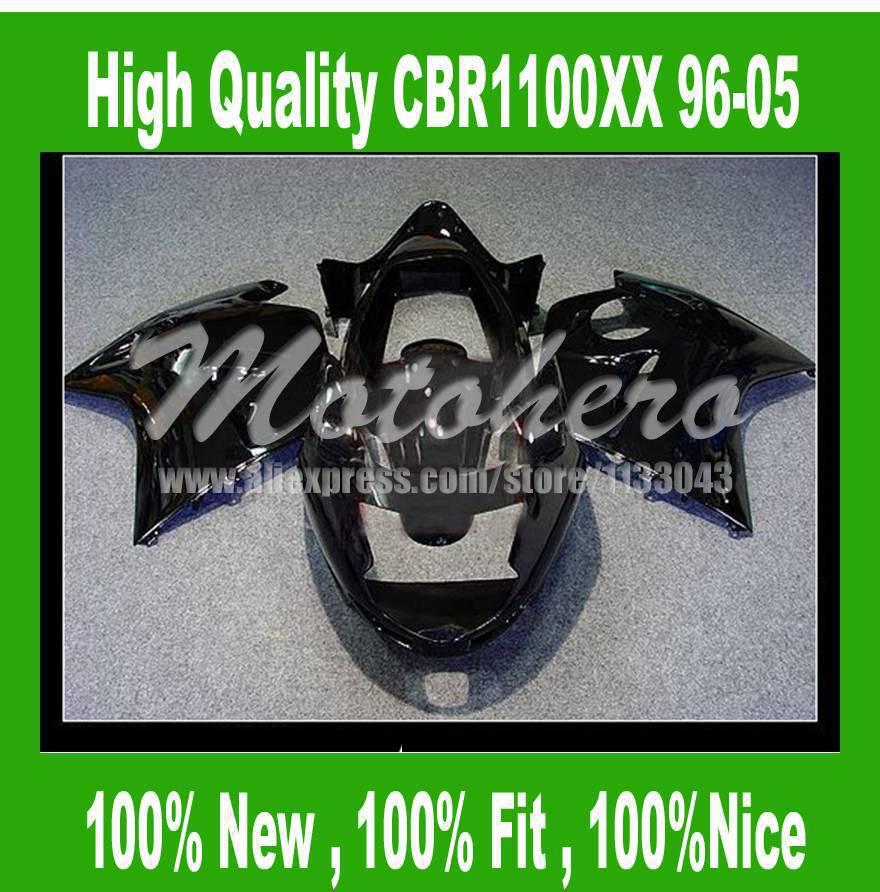 CBR1100XX Fairing kit for Honda CBR1100XX 1996 2005 CBR1100 XX 96 05 CBR 1100XX 96 05 CBR 1100 XX 96 05 fairing parts black #9p