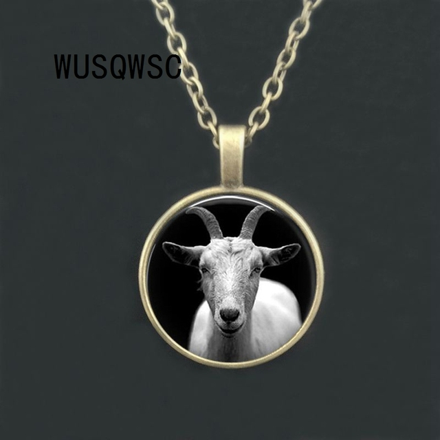 WUSQWSC Vintage Goat Glass...