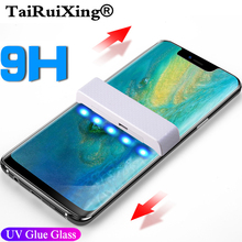 UV Tempered Glass 5D Full Liquid Glue Screen Protector For L