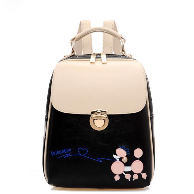yesetn bag 053117 new hot fashsion women backpack school student double shoulder bag