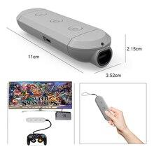 Senza fili di Bluetooth GC Adattatore Per Gamecube/Wii/NES/SNES Classic Controller Per Nintend Interruttore Nintendos e PC turbo di Acquisizione