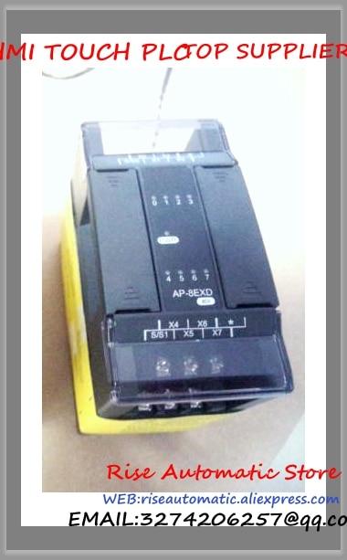 AP-8EXD PLC 8 Digital Input Expansion Module New Original 100% test good quality new original ap 8emr plc 8 digital input 8 relay output expansion module well tested working three months warranty