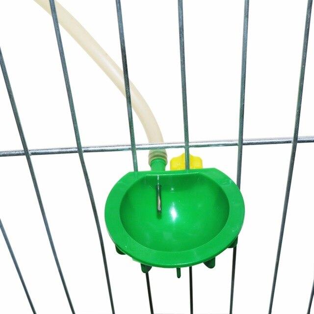 2 Pcs Farm Equipment Rabbit Automatic Drinking Water Bowl Drinkers For Rabbit Rabbit Nipple Drinker