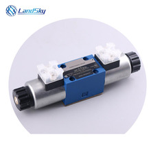 solenoid operated hydraulic control valve electric hydraulic solenoid valve solenoid for hydraulic pump  4WE6D6X/EG24N9K4 4WE6 hydraulic directional control valve zdr6da1 30 210ym superimposed pressure reducing valve hydraulic system