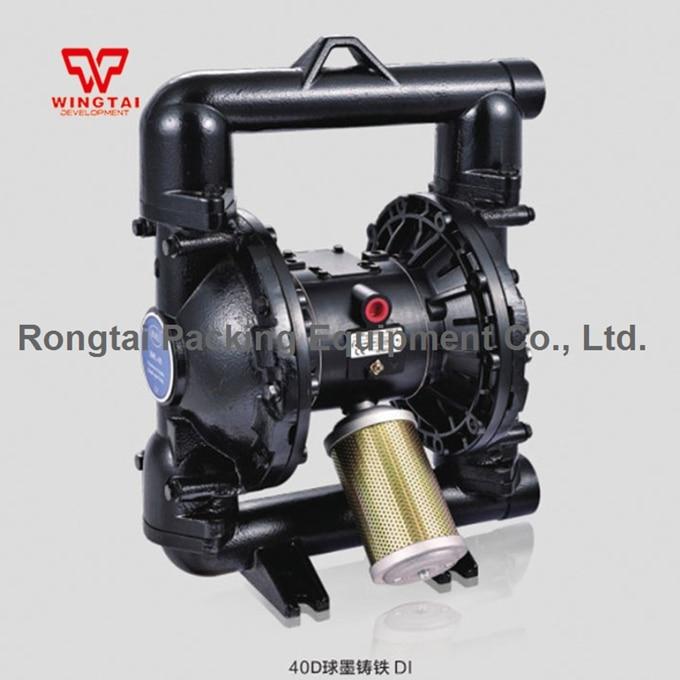 PTFE Double Way Air Diaphragm Pump BML-40D Pneumatic Diaphragm Pump qby 15 corrosion resistant double way pneumatic diaphragm pump 0 1m3 h