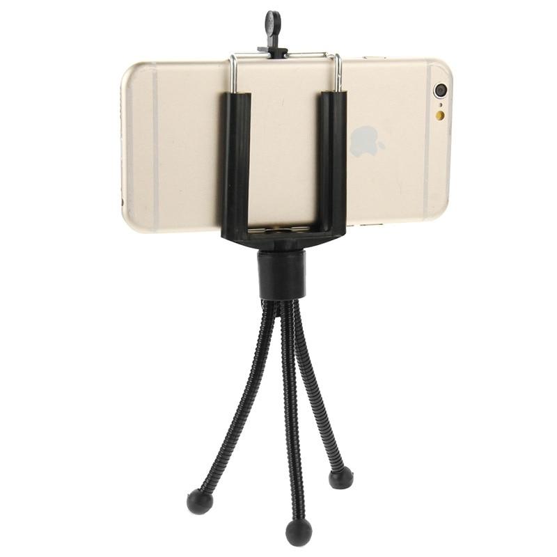 HAWEEL Universal Phone Holder for iPhone 7 6 6S Plus Tripod Stand for - Ανταλλακτικά και αξεσουάρ κινητών τηλεφώνων - Φωτογραφία 4