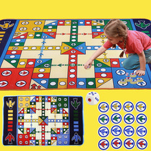 New Baby Game Mat Flying Chess Carpet Crawling Pad Desktop Large Children Puzzle Hand Toy