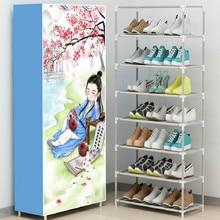 Plastik 160*60*30 Cm Hoe Penyimpanan Sepatu Rak Sepatu Rak Sepatu Transparan Kabinet Gratis Pengiriman