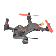 QAV190 Mini Balap Drone FPV Kit 3 k Serat Karbon 190mm Waktu Penerbangan 10 Menit