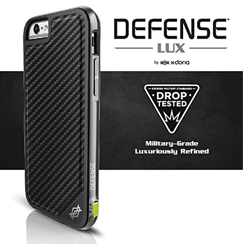 X-Doria Defense Lux Phone Case For IPhone 6 Plus 6S Plus Case Military Grade Drop Tested TPU Aluminum Protective Cover Coque
