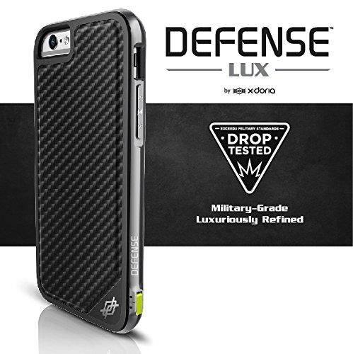 imágenes para X-doria Defensa Cubierta para el iphone 6 s Plus Caso/iPhone 6 Plus, Grado militar Protección Gota, TPU y Coque de Aluminio de Protección