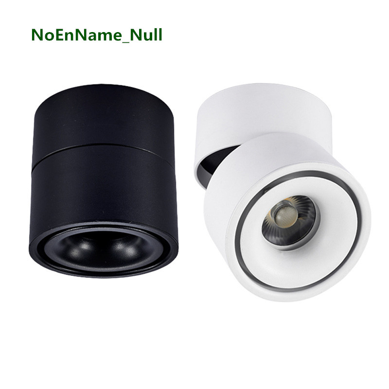 5W/7W/12W led downlight Surface mounted AC85-265V Adjustable 90 degrees Spot light 360 Rotatable led lamp LED Ceiling Lamp