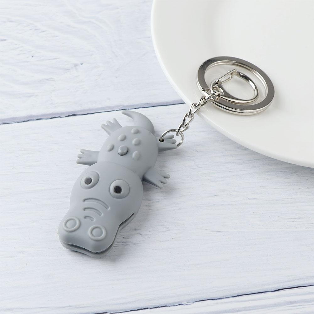 Crocodile Shape Lovely LED Toys with Sound Mini Torch Flashlight  Kids Toy Gifts