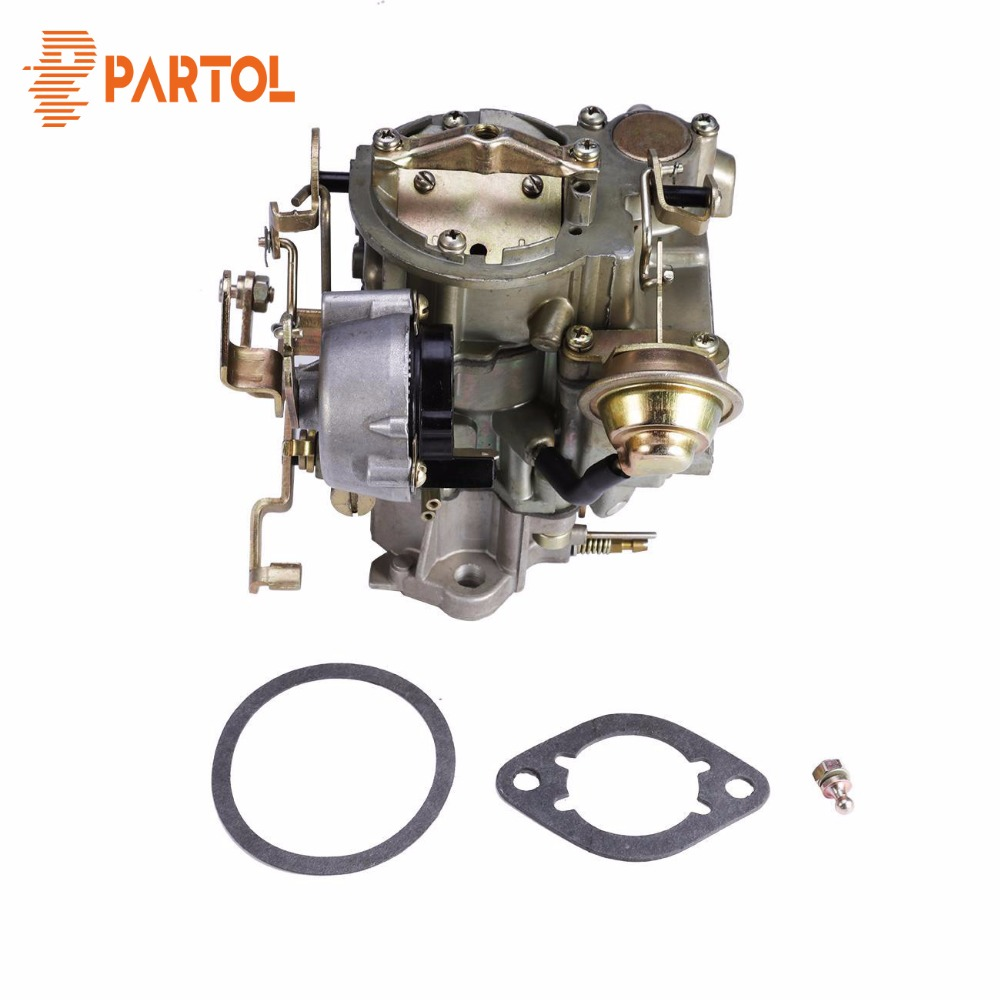 Partol Car Carburetor Carb Rochester style 1-Barrel Engine Replacement Part Automatic choke for Chevrolet GMC V6 eingines DC 12V