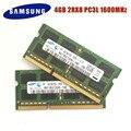 SAMSUNG 4 Гб 1R/2Rx8 PC3L-12800S DDR3 1600 МГц 4 Гб оперативная память для ноутбука 4G pc3 12800S 1600 МГц модуль для ноутбука SODIMM RAM