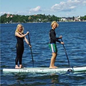 Image 2 - Aqua Marina 370*87*15cm Super Trip Inflatable Sup Stand Up Paddle Board Family Sup Board