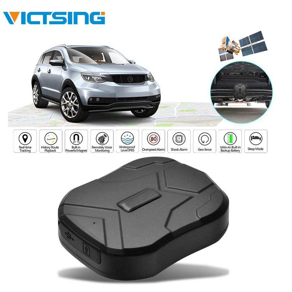 VicTsing TK905 GSM GPS GPRS traqueur de véhicule de voiture en temps réel dispositif puissant aimant GPS Tracker moto 90 jours en veille