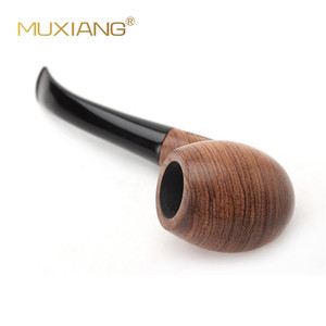 Image 3 - Muxiang 10 도구 키트 가져온 kevazingo 나무 구부러진 목조 담배 파이프 흡연 9mm 필터 남자 컬렉션 ad0018에 대 한 좋은