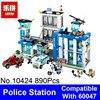 2017 Bela 10424 Lepin City Police Station Model Building Blocks Bricks Compatible 60047 Girls Blocks Friends