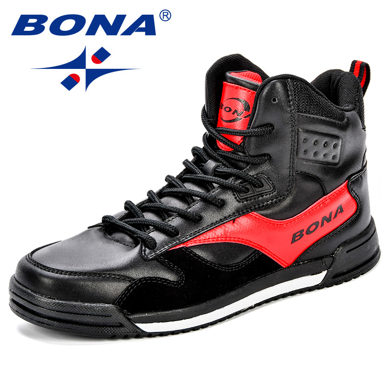 Image 3 - BONA New Style Men Skateboarding Shoes Man Lovers Flat With  Walking Sport Shoes Microfiber Outdoor Athletic Sneakers  ShoesSkateboarding