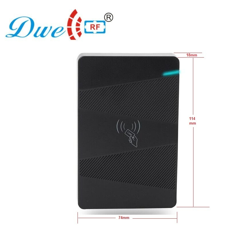 DWE CC RF Access Control Kits RFID Contactless Standalone Access Controller For Door Controller DW-H2 dwe cc rf contactless 125khz rfid plug and play reader with usb interface reading decimal or hexadecimal
