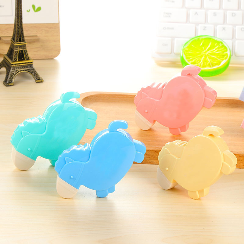 1pcs cute kawaii Trojan correction tape material creative kawaii stationery office school supplies papelaria Alteration 7M in Correction Tapes from Office School Supplies