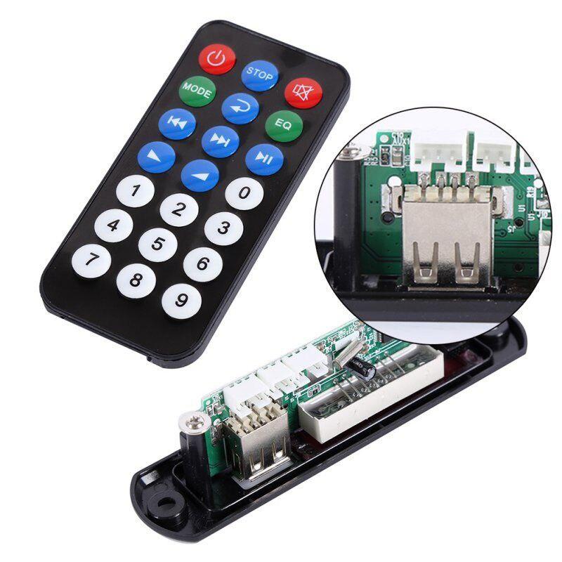 Modules 2017 New High Quality Mini USB FM MP3 Audio Player Module with Remote Control WMA TF Fine Board 5V 1 0 led mp3 decoder module board w usb mini usb sd fm remote control black 5v