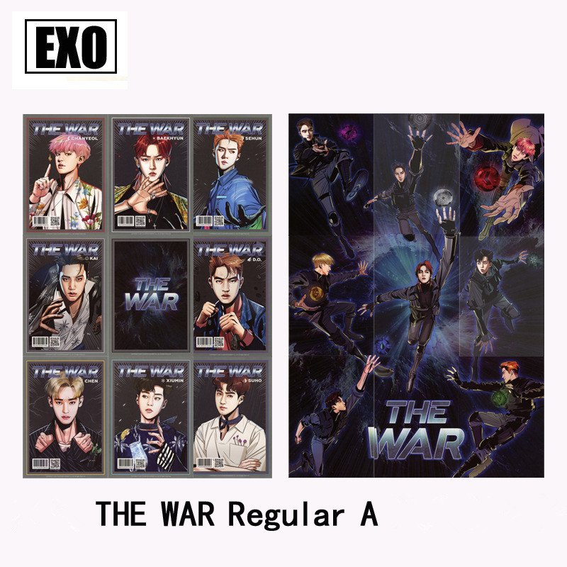 Kpop The War Regular Kokobop Album Photo Card Hip Hop Self Made Paper Cards Autograph Photocard Jewelry Findings & Components Jewelry & Accessories