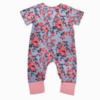 Toddler New Arrival Girls Romper Jumpsuit Playsuit Floral Cotton Clothes Outfits Set Infant Baby Girl Flower Rompers Sunsuits