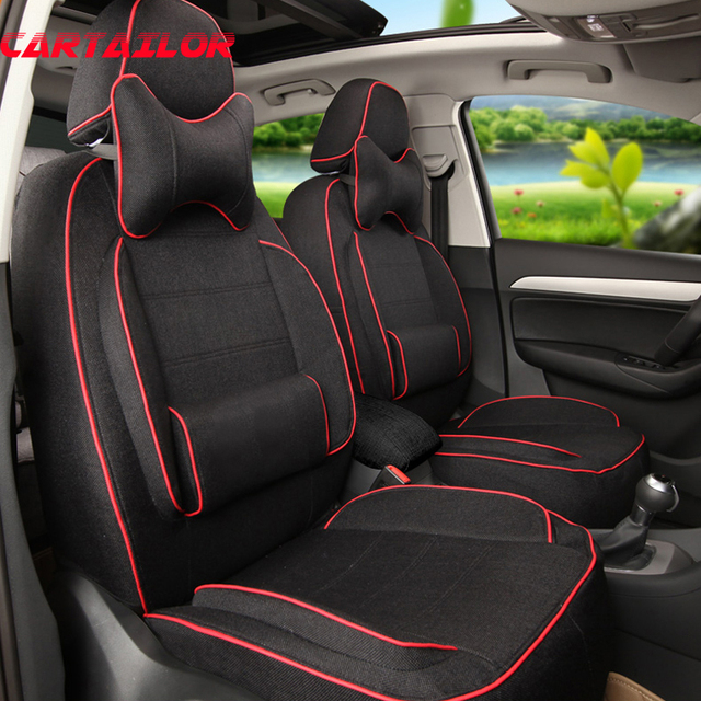 cartailor auto seat protector for bmw 4 series car seats linen cloth car seat covers supports. Black Bedroom Furniture Sets. Home Design Ideas