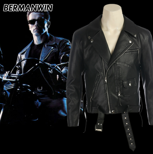 Bermanwin high quality terminator 2 judgment day adult men arnold bermanwin high quality terminator 2 judgment day adult men arnold schwarzenegger costume halloween cosplay costume thecheapjerseys Gallery
