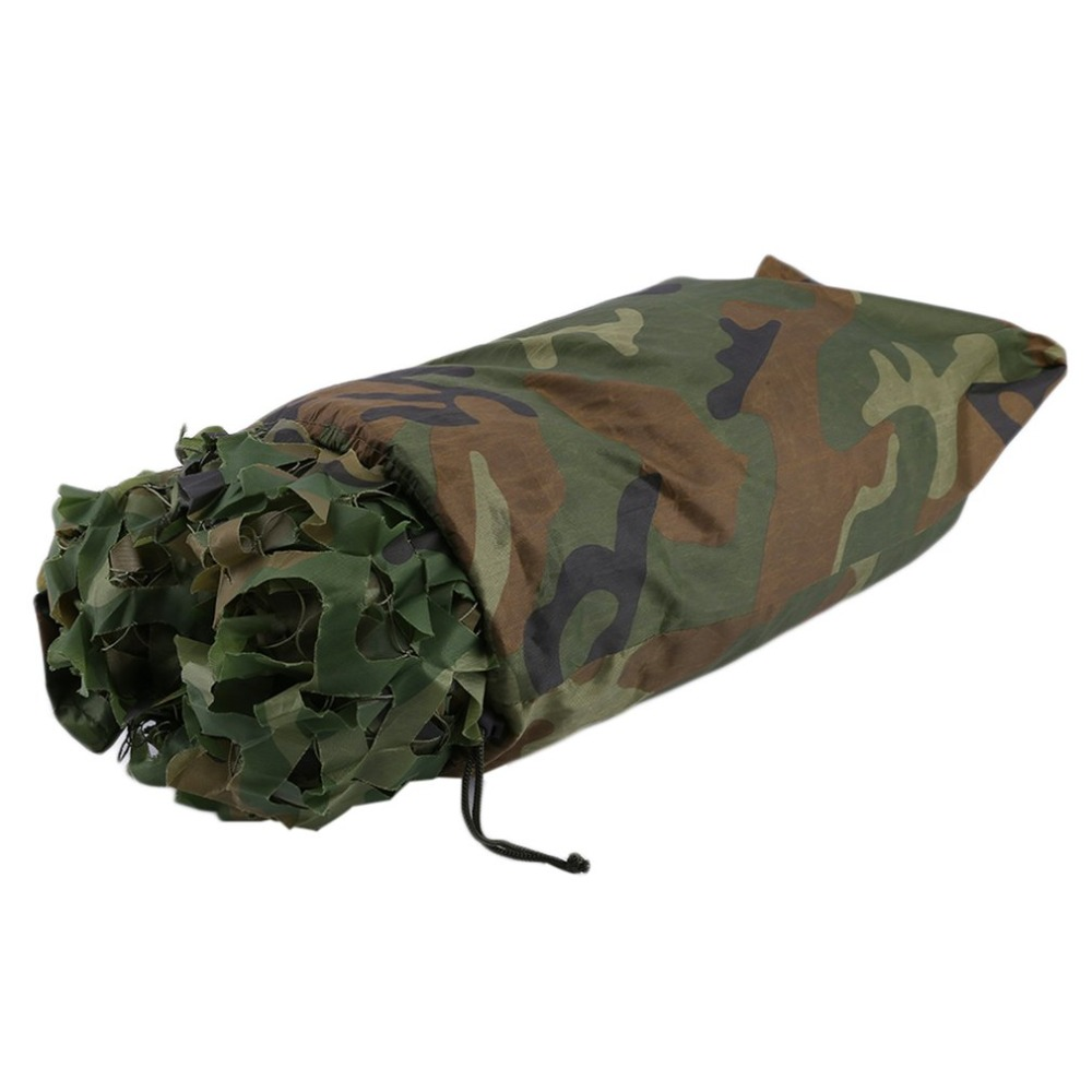 4X5 M chasse Camping Camo Net boisé Camouflage Net Jungle feuilles Camo Net pour extérieur militaire voiture ombre couverture livraison gratuite