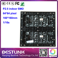 P2.5 levou módulo de tela 64 * 64 pixels 1/16 interior de digitalização rgb painel de led board para parede de vídeo tela led placa de publicidade eletrônica