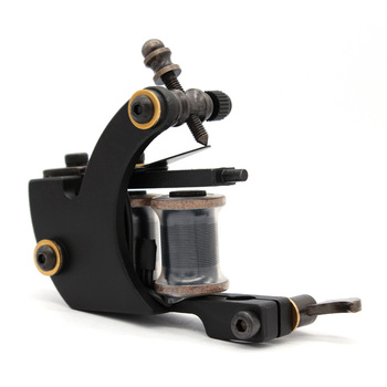 Professional Crescent Coil Tattoo Machine Carbon Steel Machine Imported Coil For Liner & Shader Supply