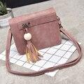 Saco Famoso Designer De Couro Nubuck Bolsa de Ombro Do Vintage Mulheres Mensageiro Saco Pequeno Das Mulheres Flap Bag Bolsa Feminina