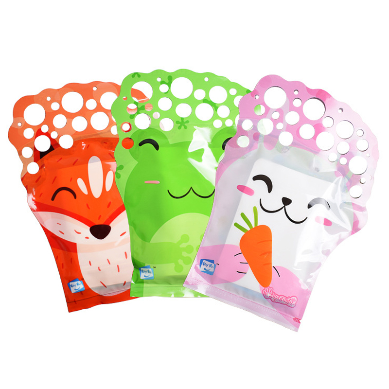 1pc Bubbles Brinquedos Birthday Party Decorations Kids Toys Soap Bubble Speelgoed Water Magic Gloves For Outdoor Fun Sports Toys