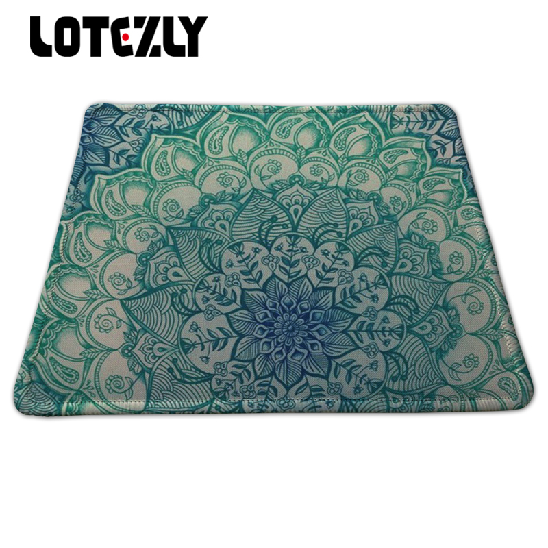 Stitched Edge Large Gaming Mouse Pad Customized Natural Rubber Mousepad DIY Patterns For PC Computer Notebook Mice Play Mat