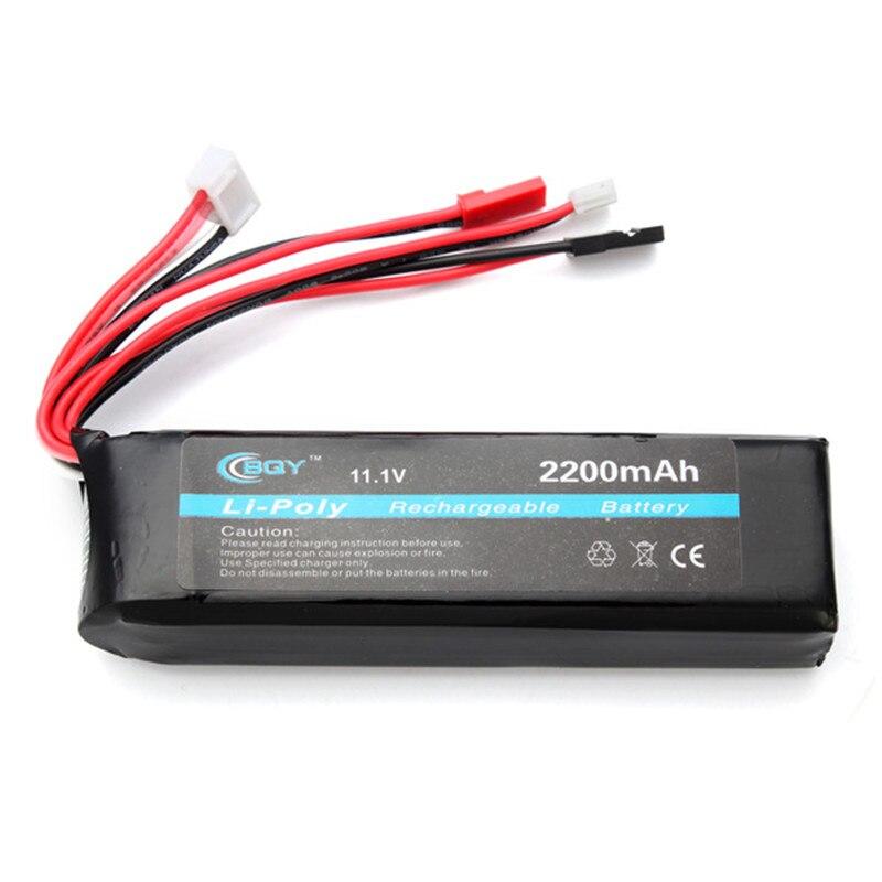 BQY Power 11,1 V 2200 mAh Lipo Batterie Für RC Sender C305 für RC Quadcopter Ersatzteile für FPV Racing Drone Zubehör Accs