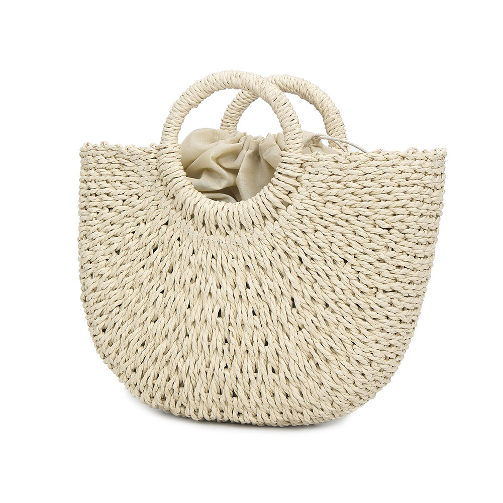 Women Handbag Tote Beach-Shoulder-Bag Party Summer Straw Large-Capacity Popular