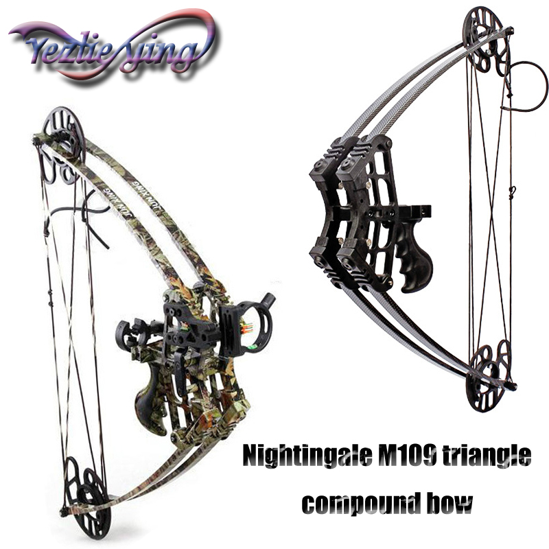 Crossbow Hunting Composite Pulley Bow 45lbs Weight Adult Hunter Archery Aluminum Alloy Sport Game Archery Bow