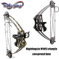 Crossbow Hunting Composite Pulley Bow 45lbs Weight Adult Hunter Archery Aluminum Alloy Sport Game Archery Bow and Arrow