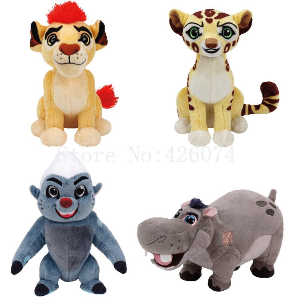 New Ty Beanie The Lion Guard Kion Fuli Bunga Beshte Plush 15CM Kids Stuffed  Animals Toys 3bf91ed2c1e4