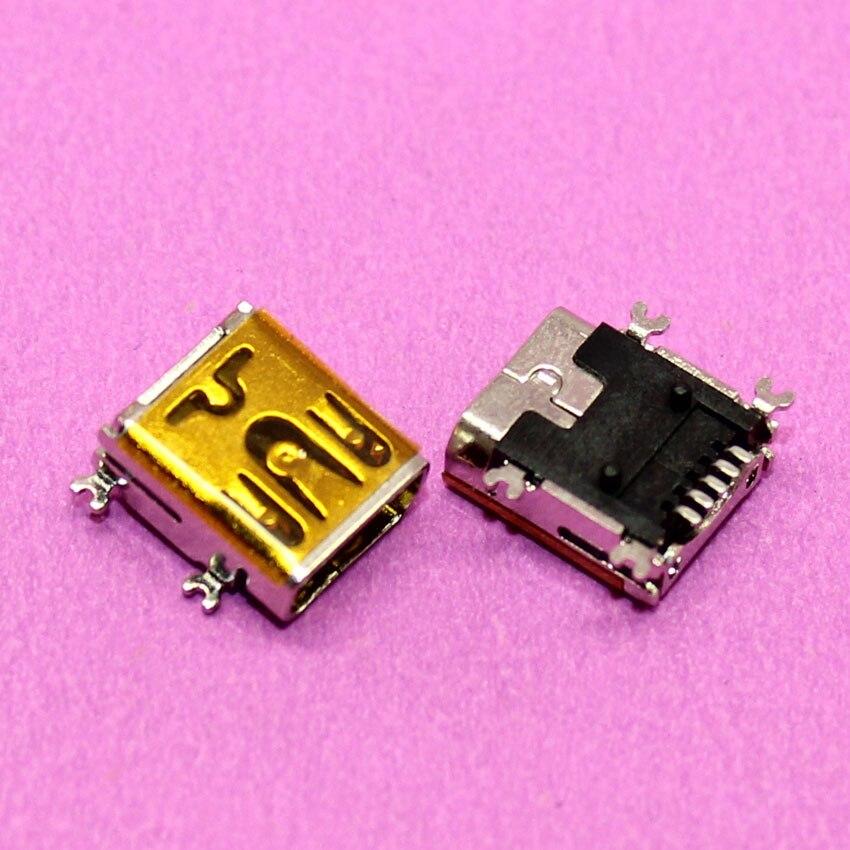100% Новый для mini USB разъем разъем, V3 порт для MP3, MP4, GPS и т. д., 5Pin SMT, длинные тип
